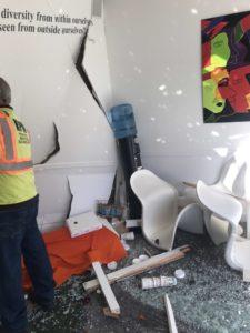 Crash at Lowry Main Street Dental