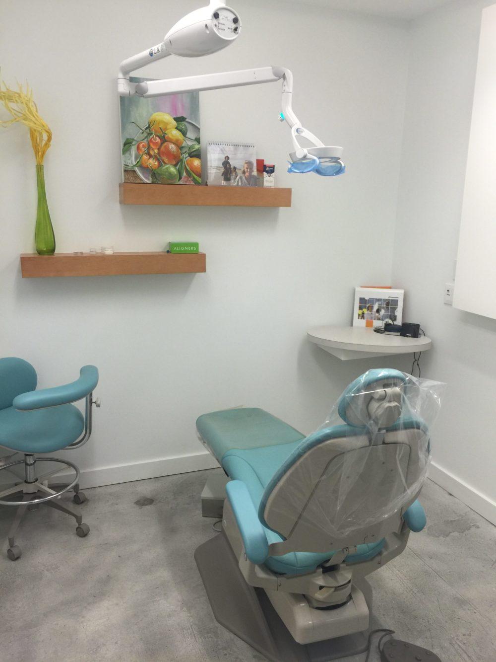 Dental Chair and Lowry Main Street Dental