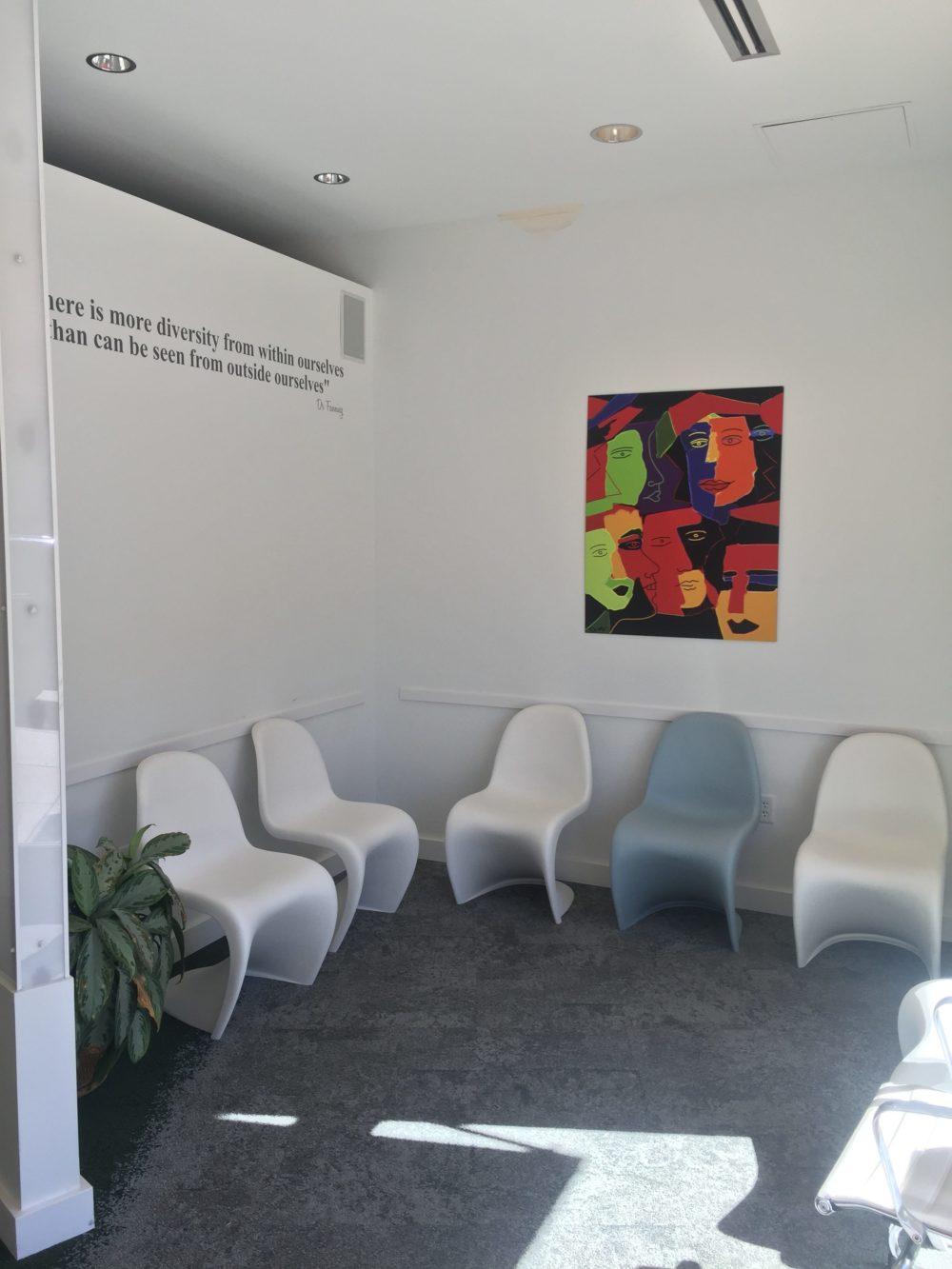 Waiting Room at Lowry Main Street Dental
